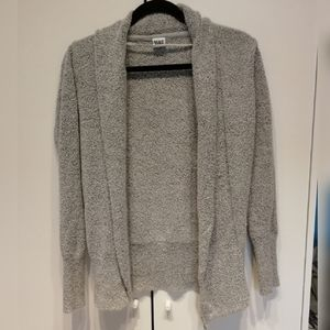 Grey Cozy Slight Shawl Cardigan Sz: M | Vero Moda